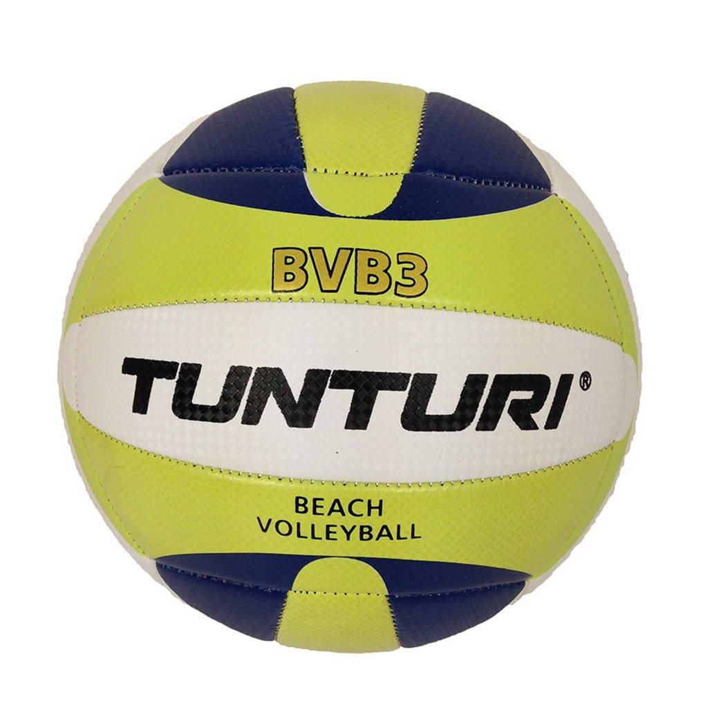 Tunturi Beachvolleybal - Strand Volleybal - BVB3, Geel/blauw