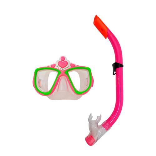 Tunturi Kinder snorkelset - Duikbril en snorkel - Prinses