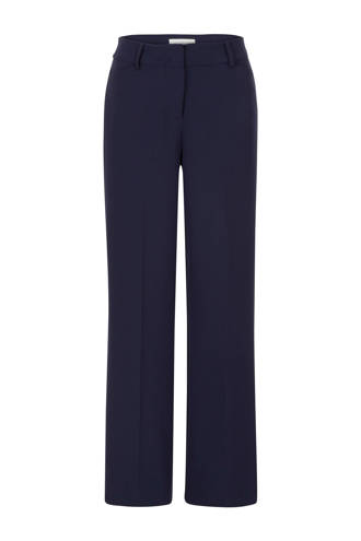 straight fit pantalon marine