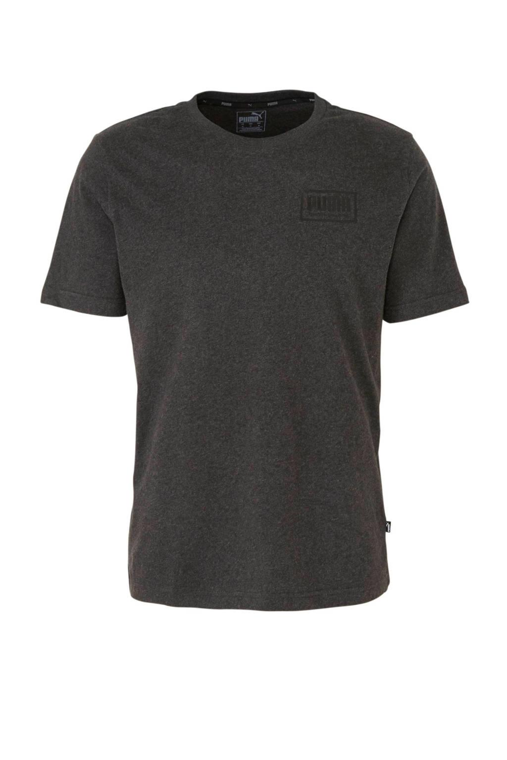 Puma   T-shirt antraciet, Antraciet