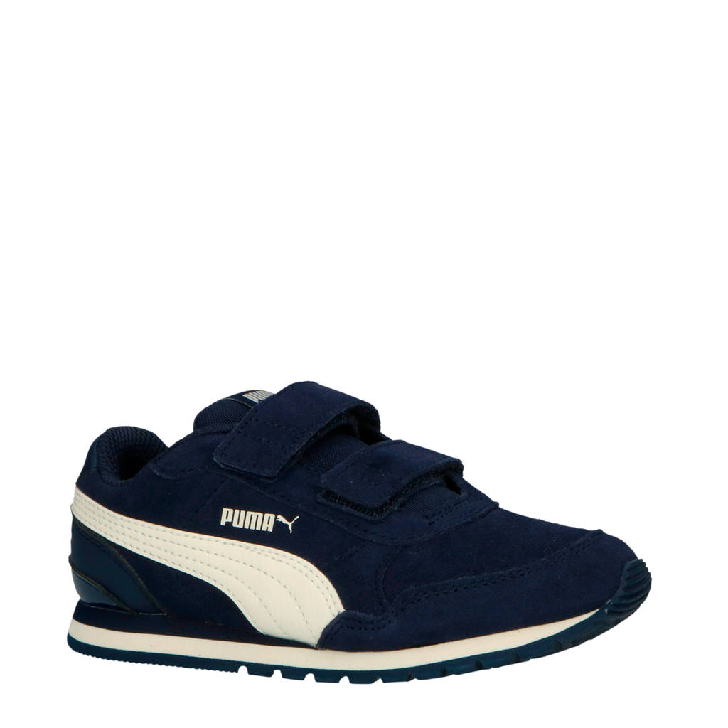 Puma  ST Runner V2 SD V PS sneakers donkerblauw, Blauw/wit