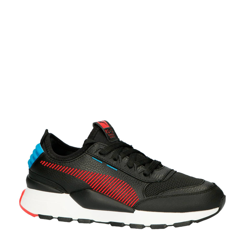 Puma RS-0 Rein sneakers zwart/rood, Zwart/rood