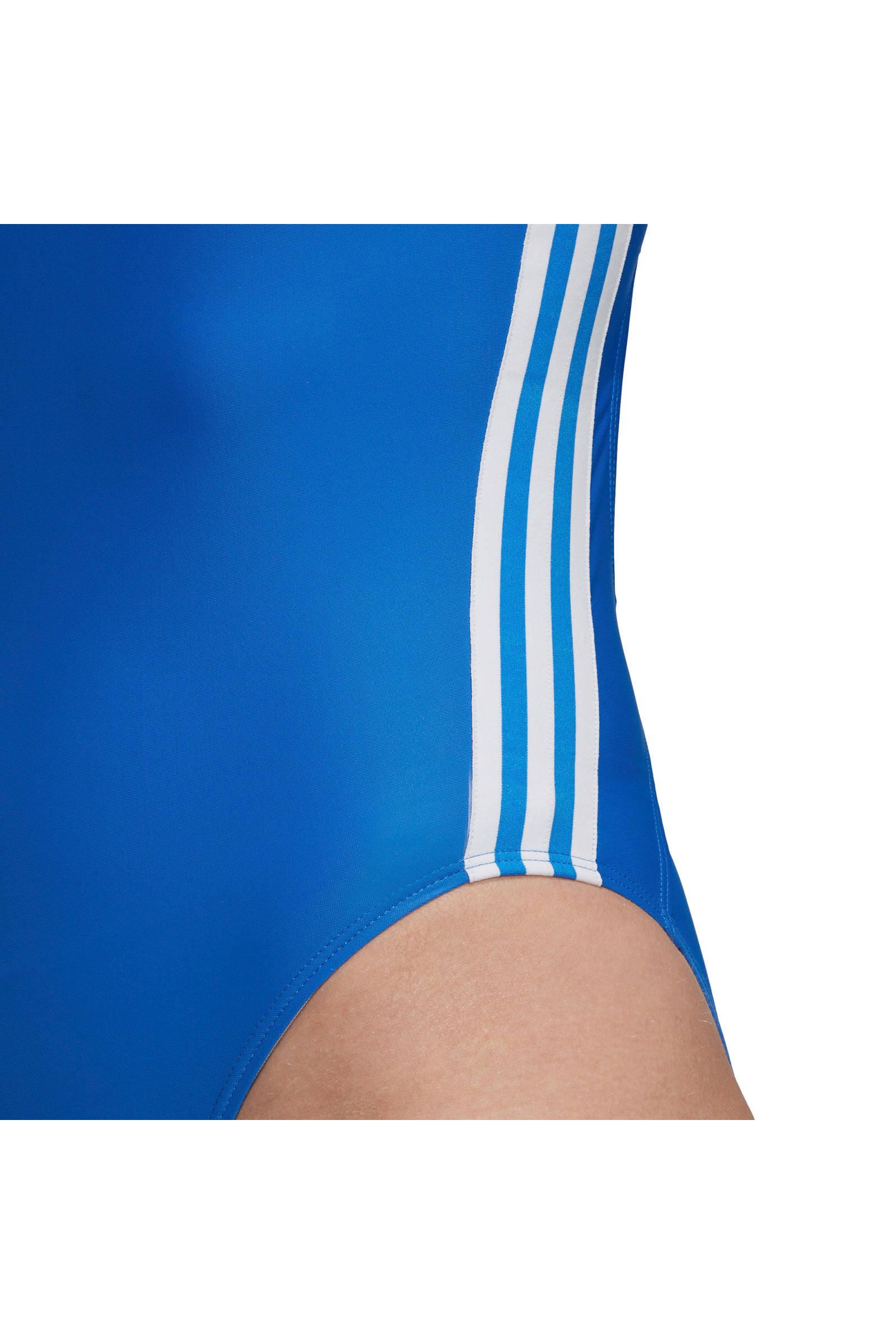 infinitex sportbadpak 3 stripes blauw