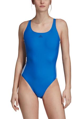 infinitex sportbadpak 3-stripes blauw