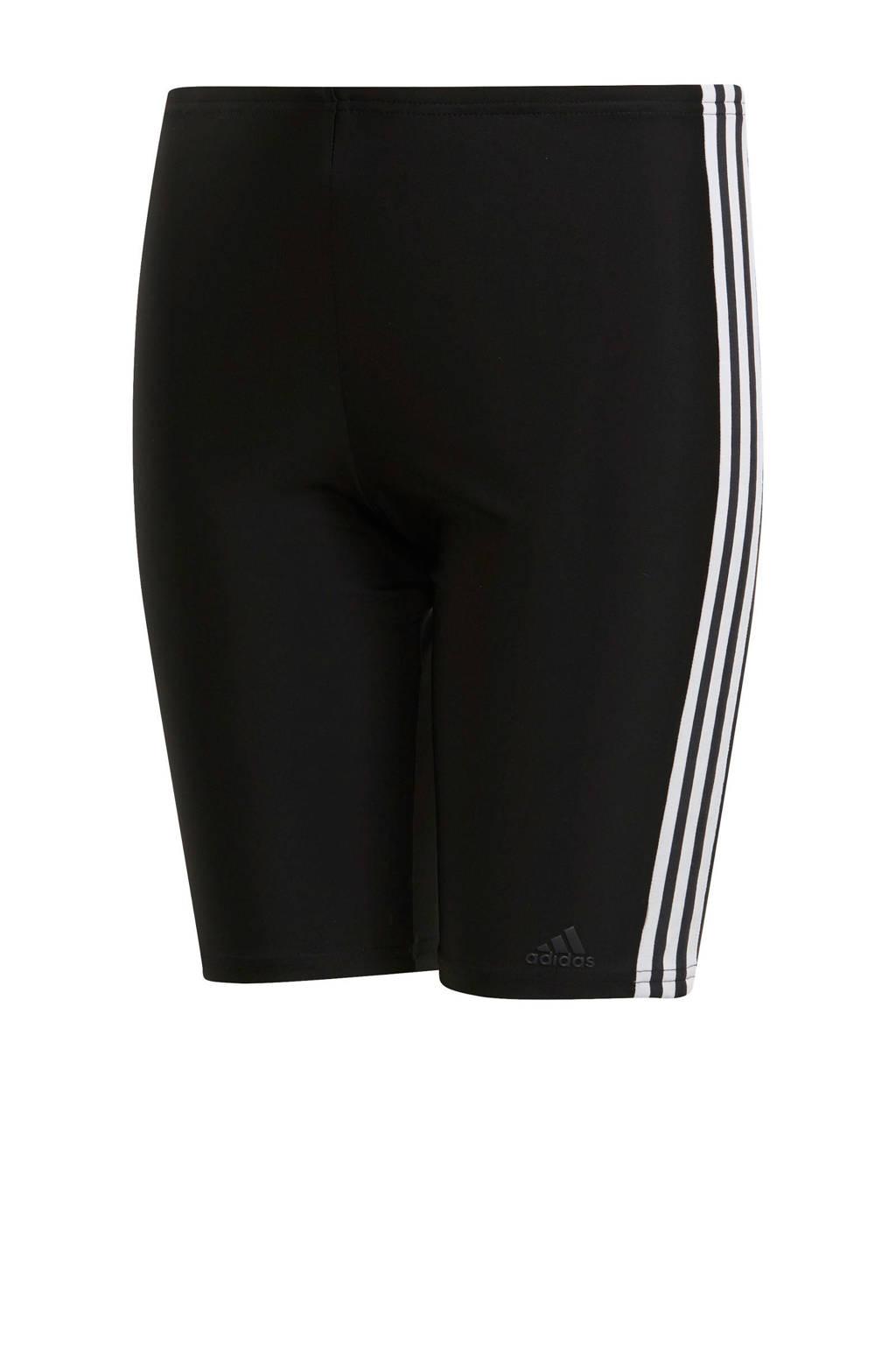 adidas infinitex jammer 3-stripes zwart, Zwart/wit
