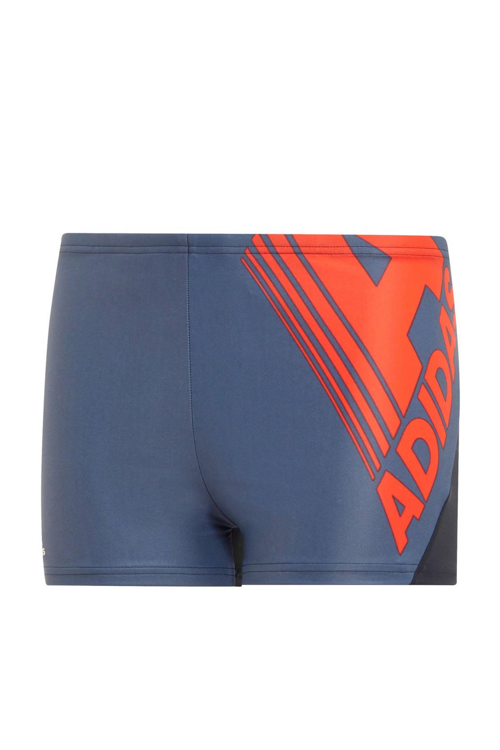 adidas Performance infinitex zwemboxer grijs, Grijs/rood