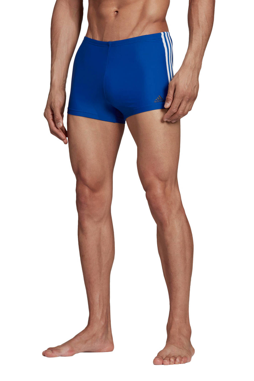 adidas Performance Infinitex zwemboxer blauw, Blauw/wit