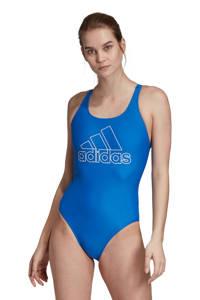 adidas Performance infinitex sportbadpak blauw, Blauw