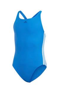 adidas Infinitex sportbadpak Athly V 3-stripes blauw, Blauw/wit