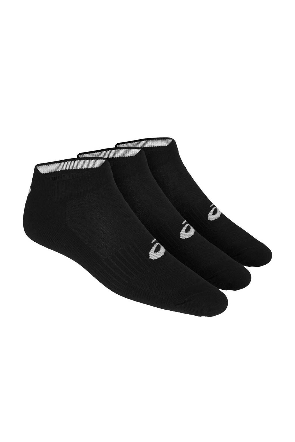 ASICS   sportsokken (set van 3 paar) zwart, Zwart
