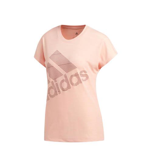 adidas Women's Badge of Sport Tee Hardloopshirts (korte mouwen)