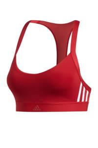 adidas Performance Level 2 sportbh rood, Rood