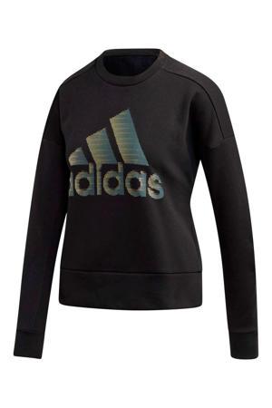 performance sweater zwart