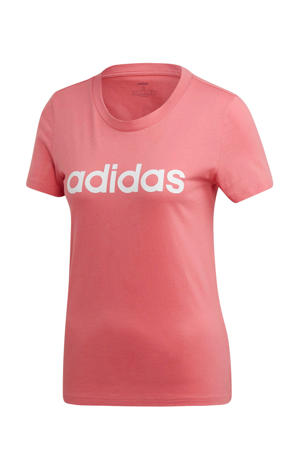performance sport T-shirt roze