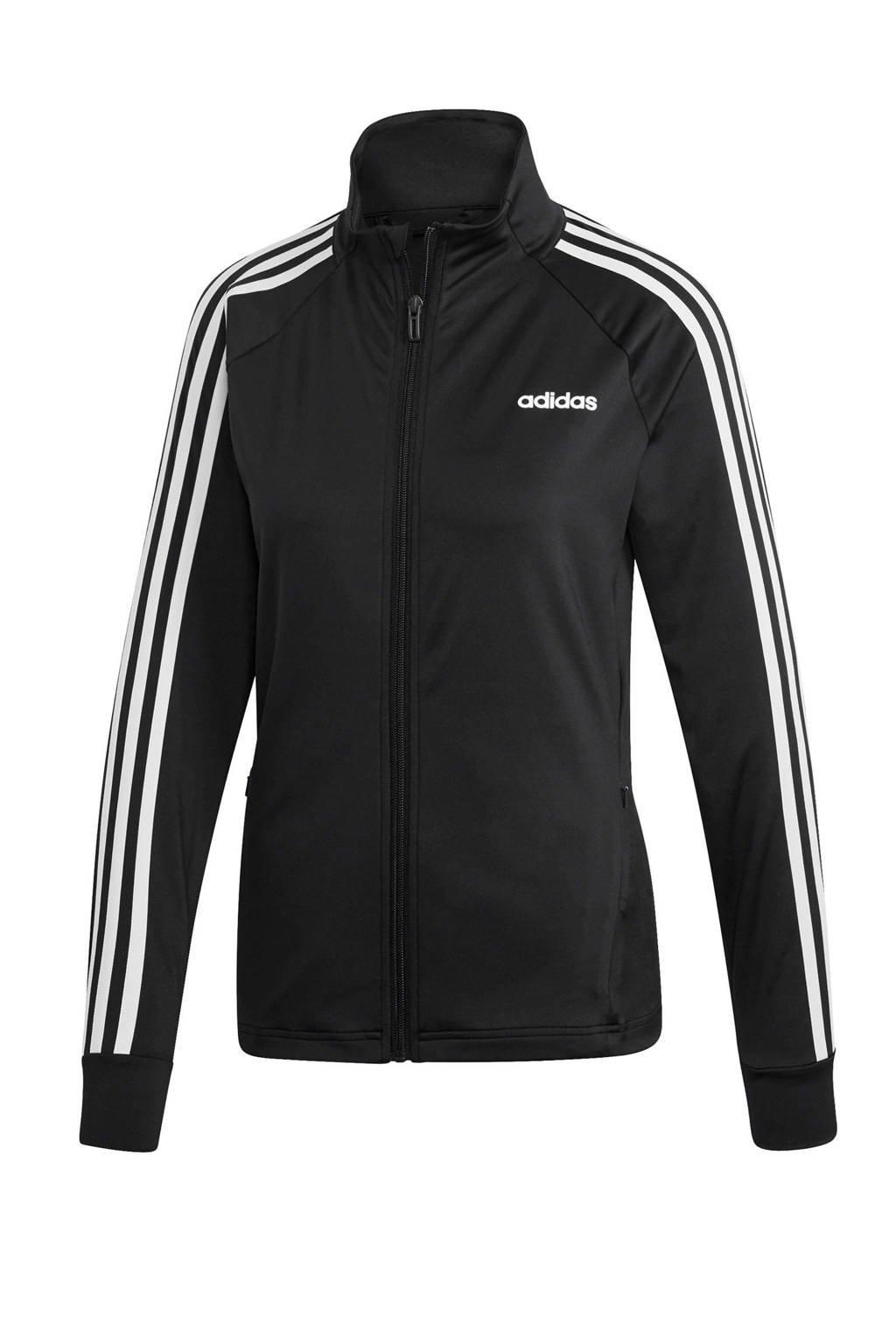 adidas Performance Designed2Move sportvest zwart/wit, Zwart/wit