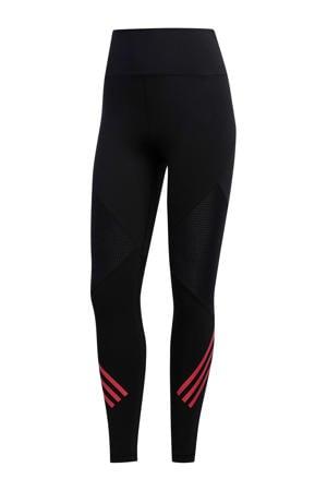 performance sportlegging zwart/roze