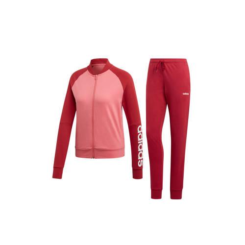 adidas performance trainingspak roze-rood