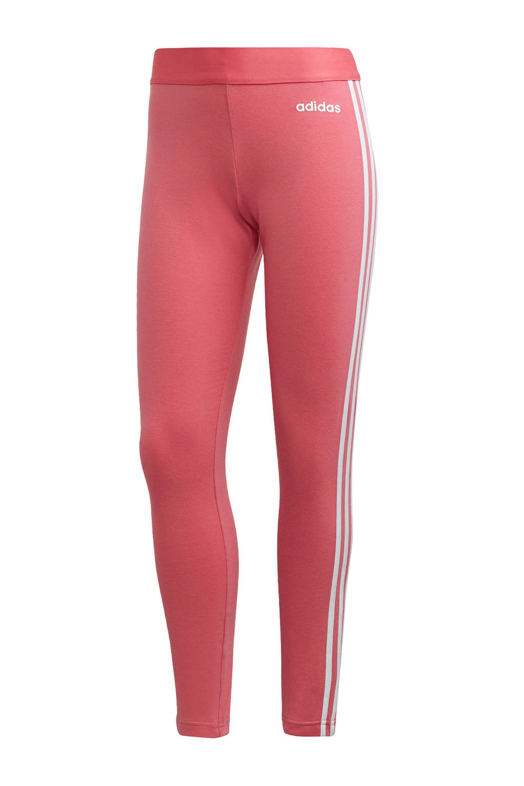 adidas performance sportbroek roze, Roze/wit