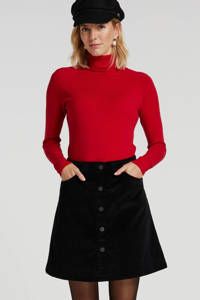 Summum Woman fijngebreide trui rood, Rood