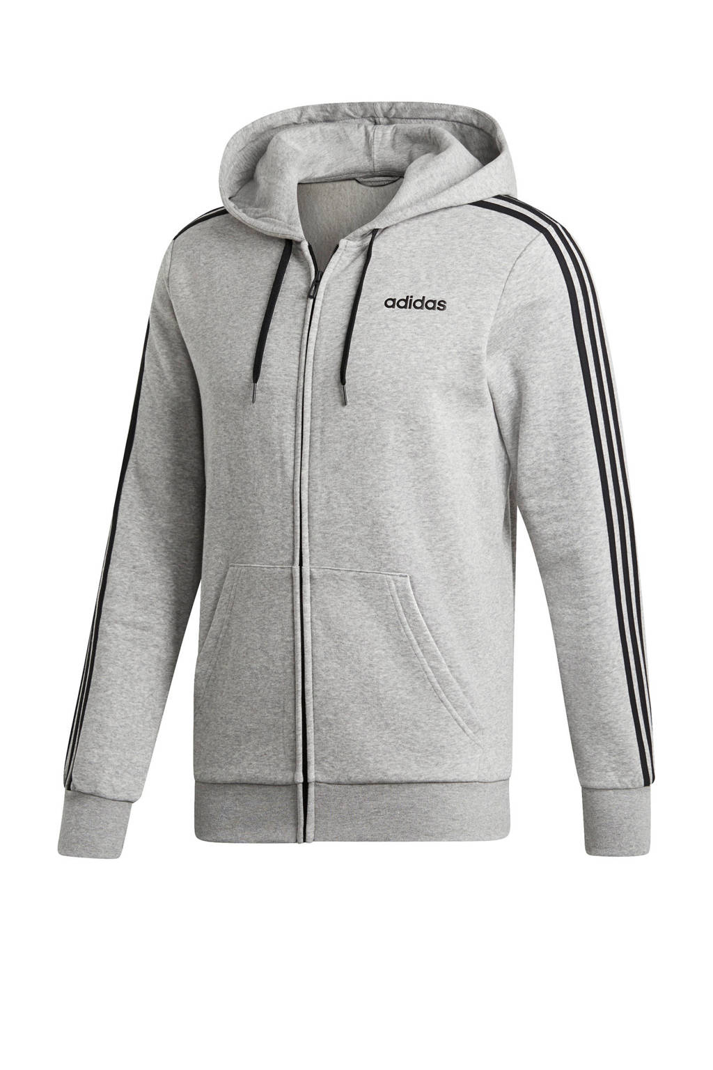 adidas performance   sportvest grijs melange, Grijs melange/zwart