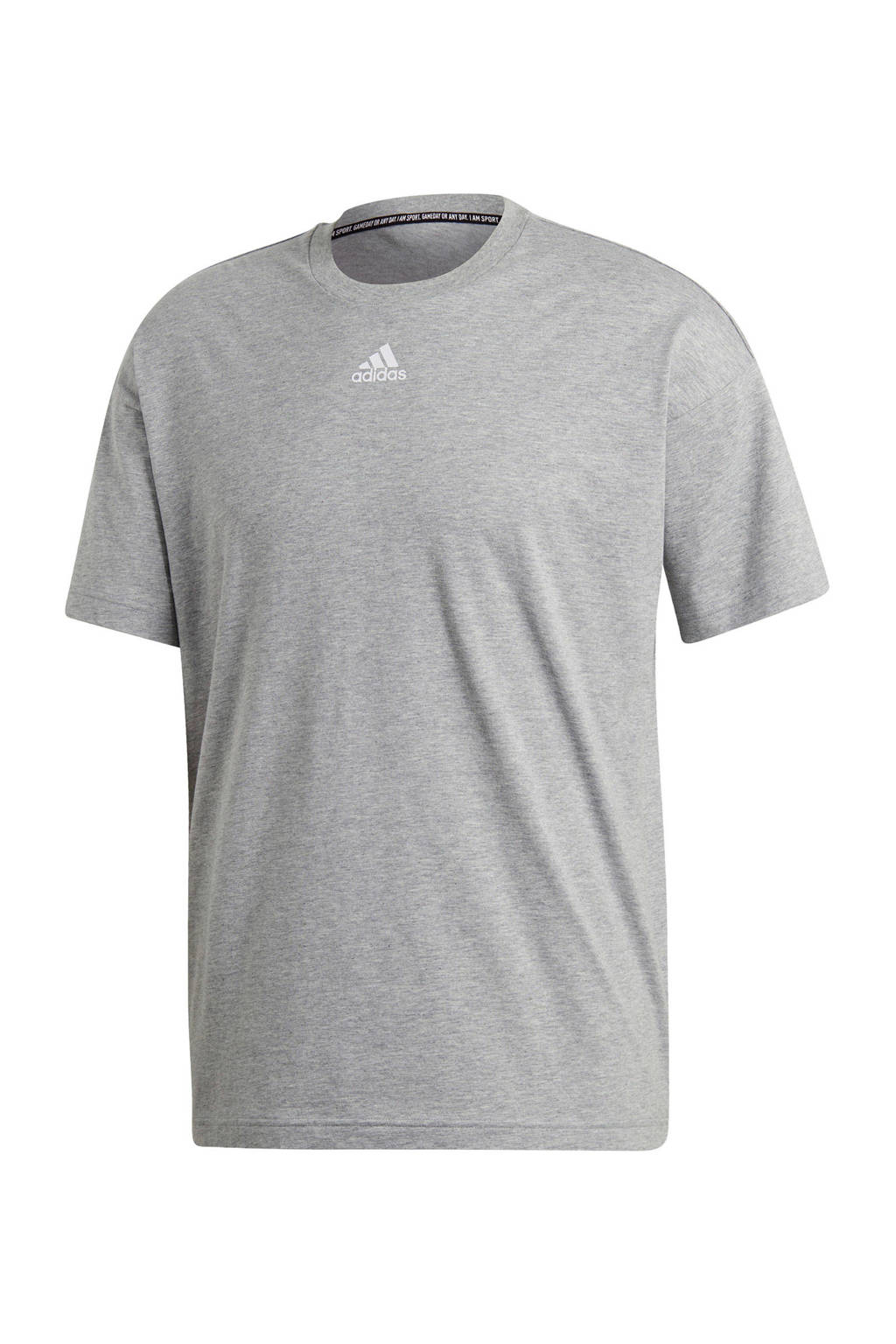 adidas   sport T-shirt grijs, Grijs