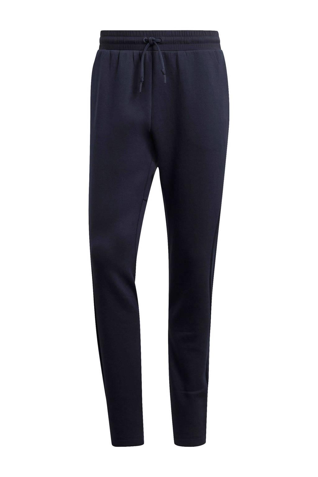 adidas slim fit joggingbroek donkerblauw, Donkerblauw