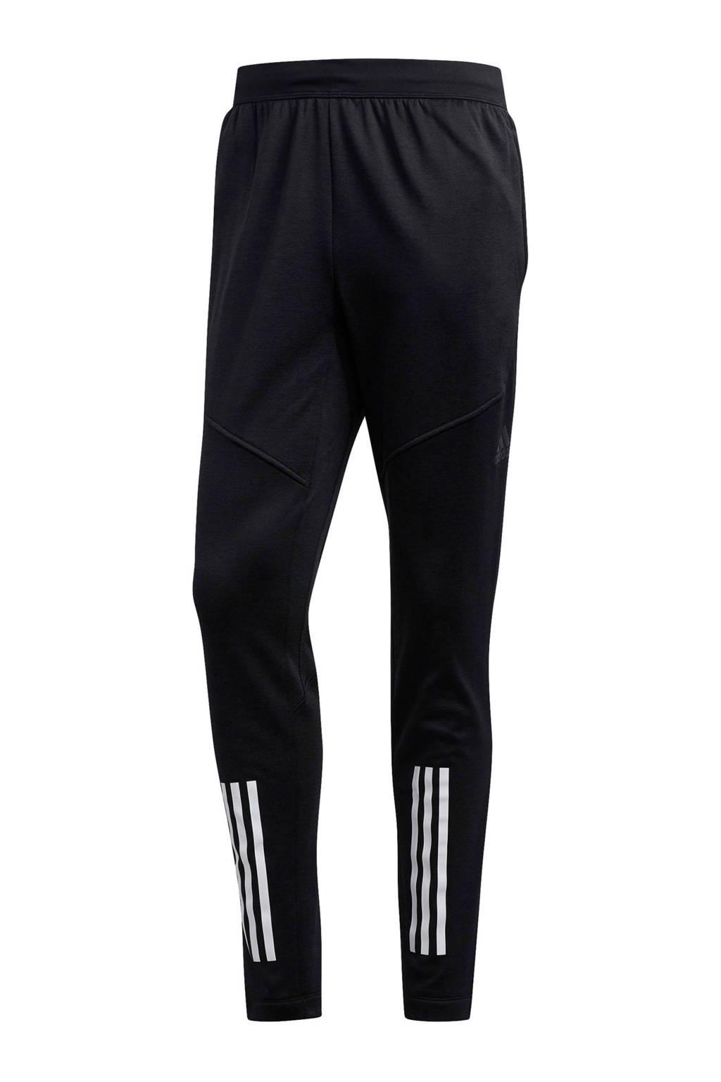 adidas performance   sportbroek, Zwart/wit