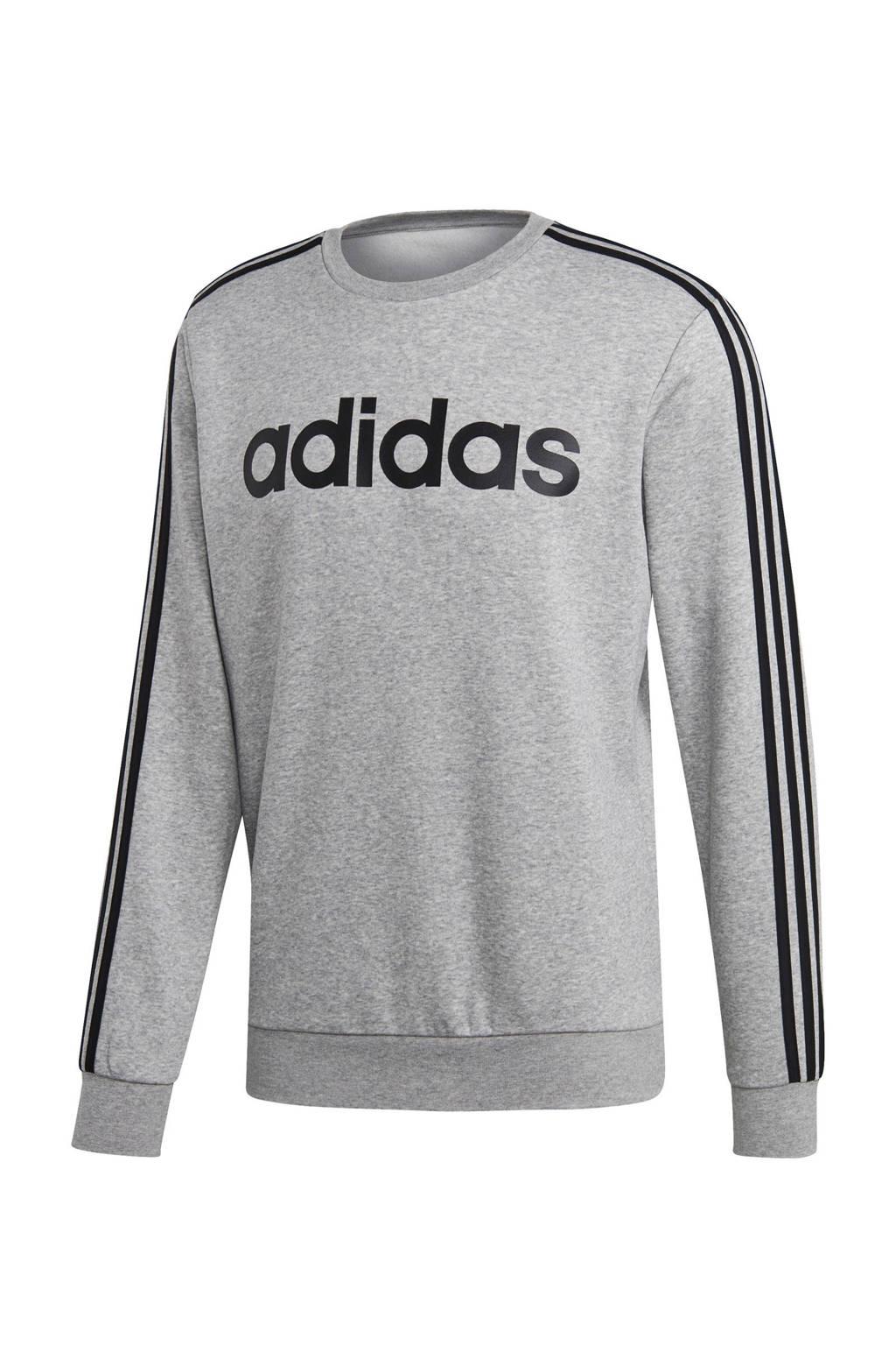 adidas performance   sportsweater grijs/zwart, Grijs melange/zwart