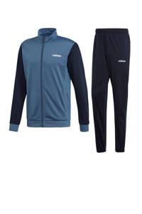 adidas   trainingspak blauw/donkerblauw, Donkerblauw/blauw