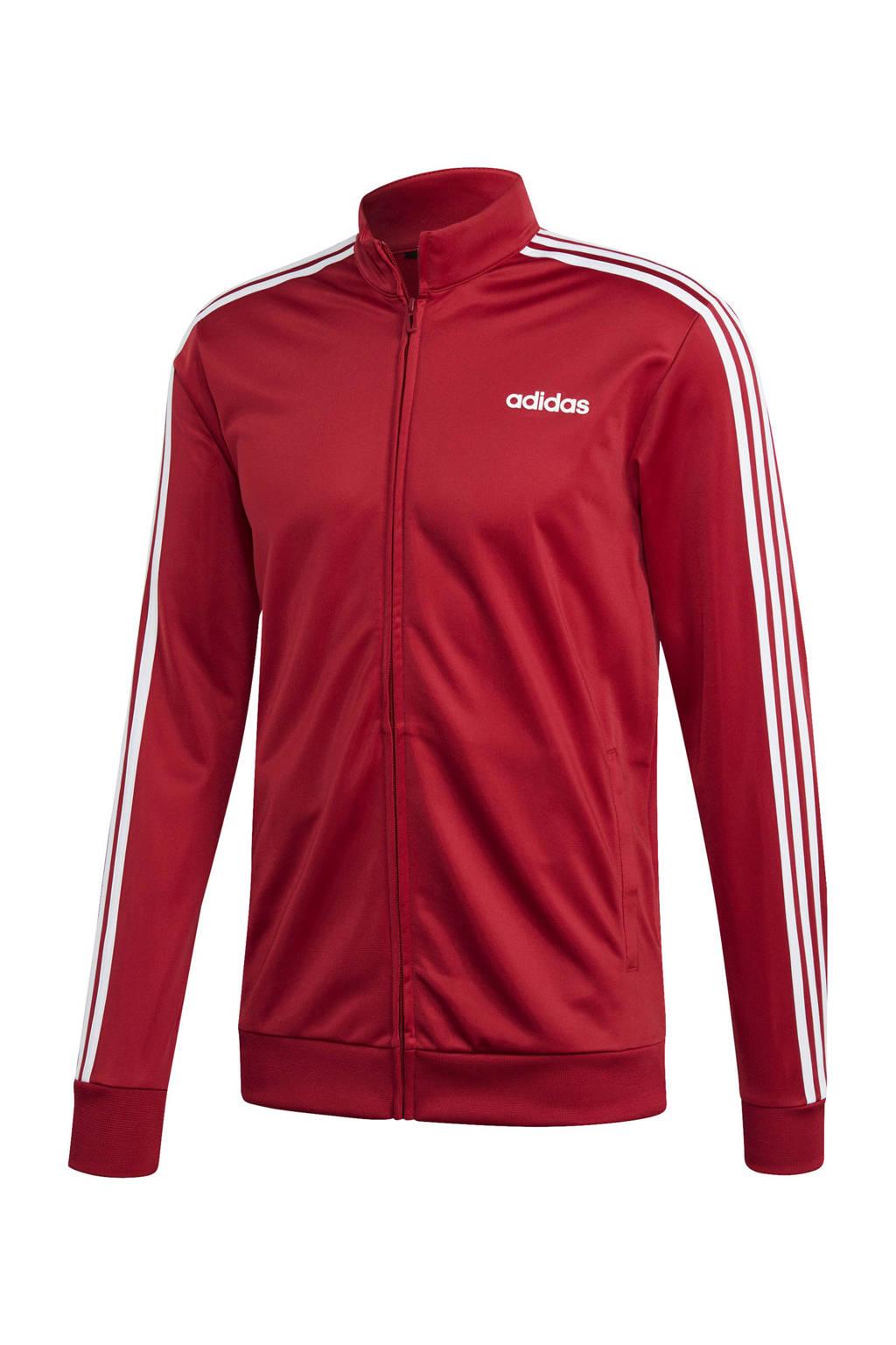 adidas Performance   sportvest rood, Rood