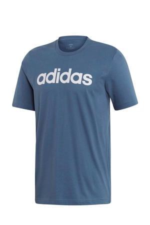 sport T-shirt grijsblauw