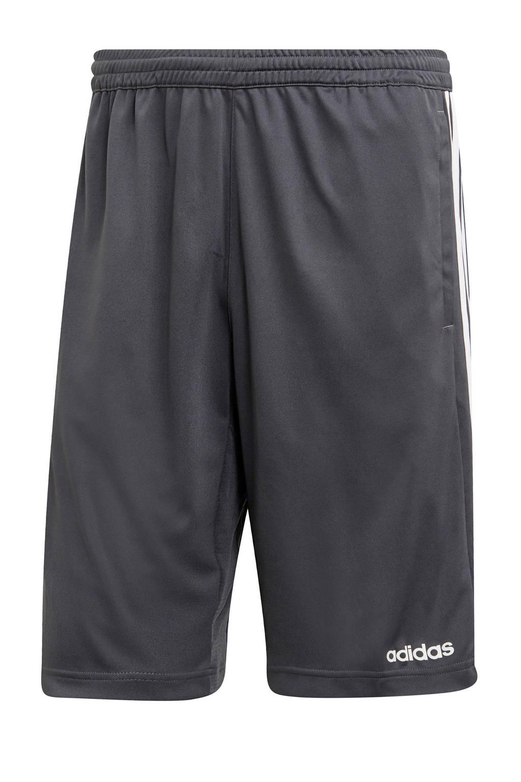 adidas Performance   sportshort grijs, Grijs/wit