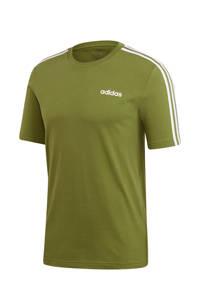 adidas Performance   sport T-shirt olijfgroen, Olijfgroen/wit