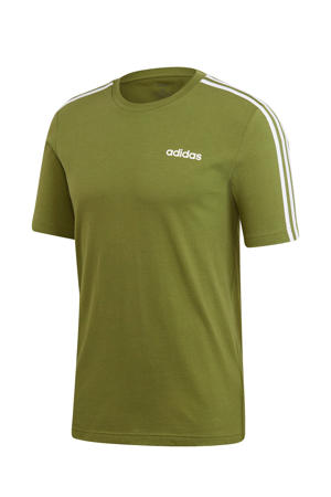 performance   sport T-shirt olijfgroen