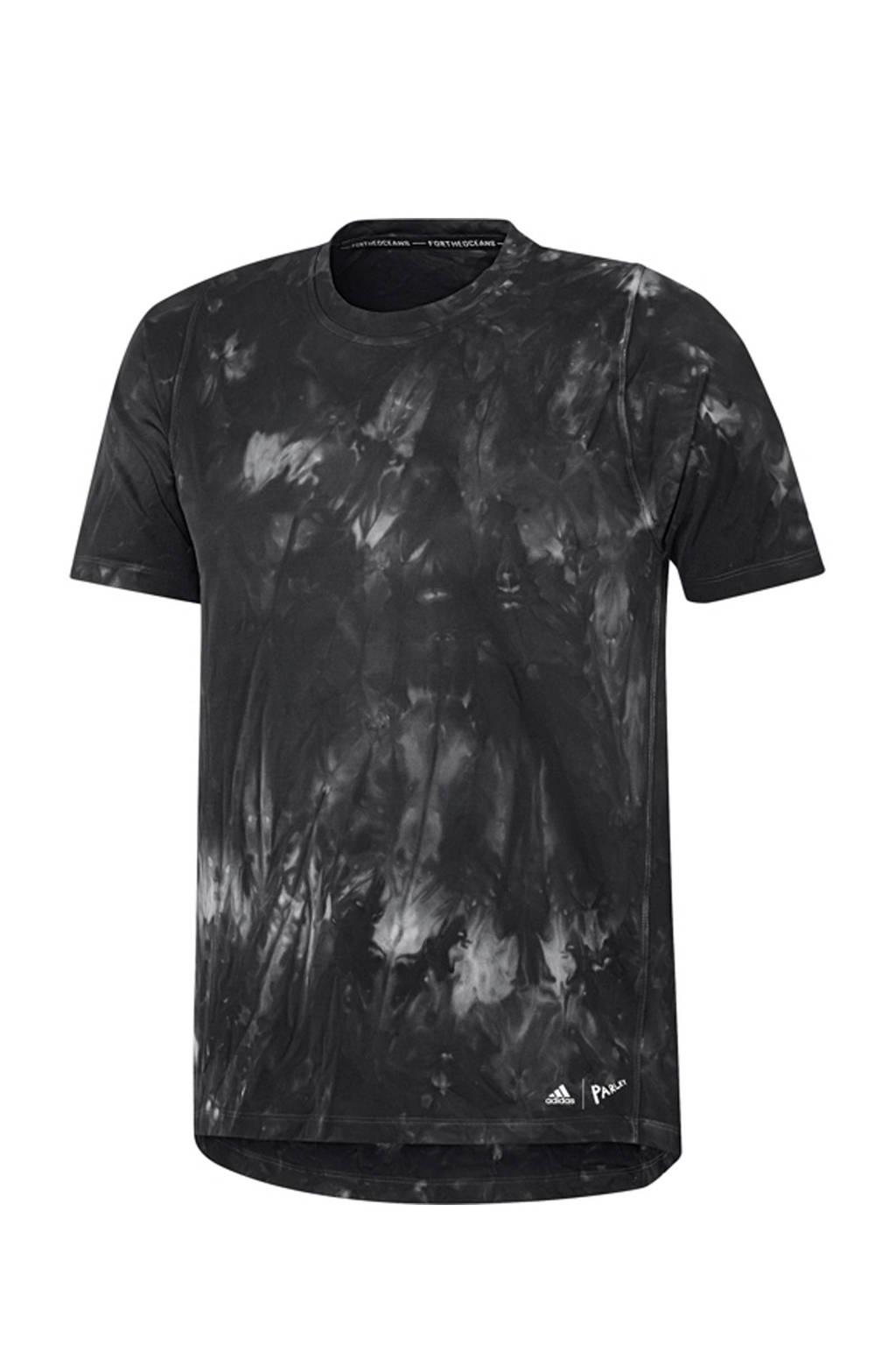 adidas   Parley sport T-shirt antraciet, Antraciet