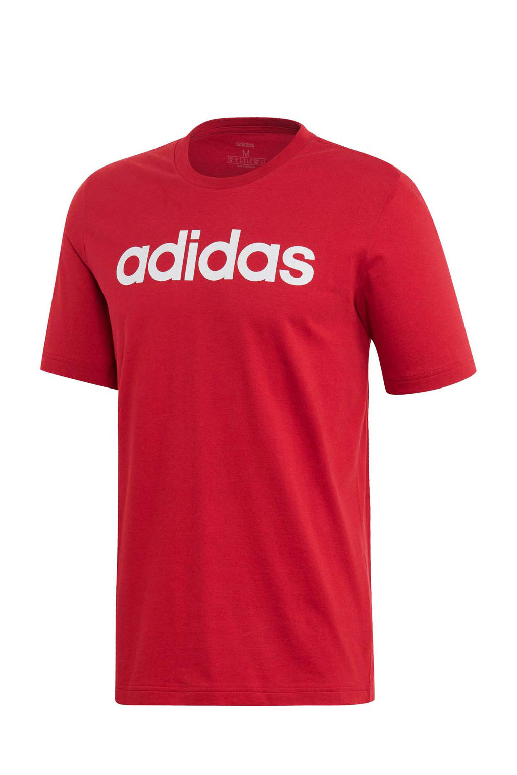 adidas Performance   sport T-shirt rood, Rood/wit