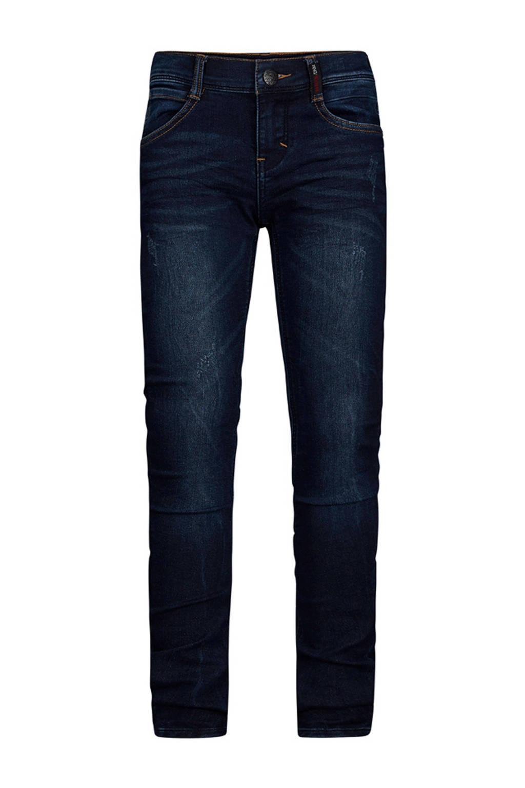 Retour Denim slim fit jeans Luigi donkerblauw, Donkerblauw