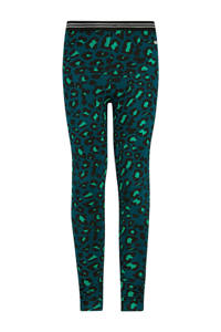 Retour Denim legging Marcelina met panterprint groen/felgroen, Groen/felgroen