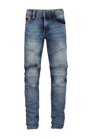 tapered fit jeans Yves vintage blauw