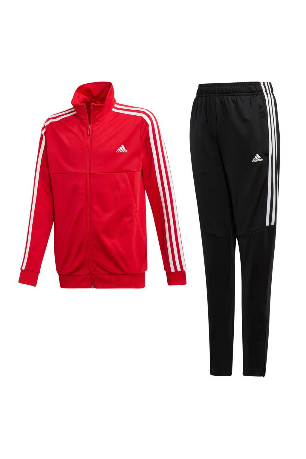 adidas performance   trainingspak rood, Rood