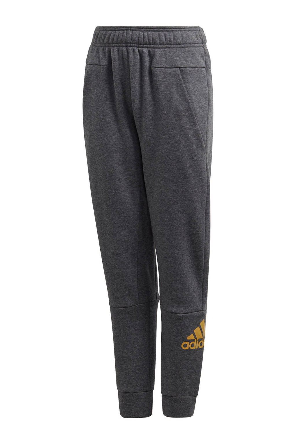 adidas performance   sportbroek antraciet, Antraciet