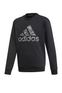 adidas   sportsweater, Zwart/grijs