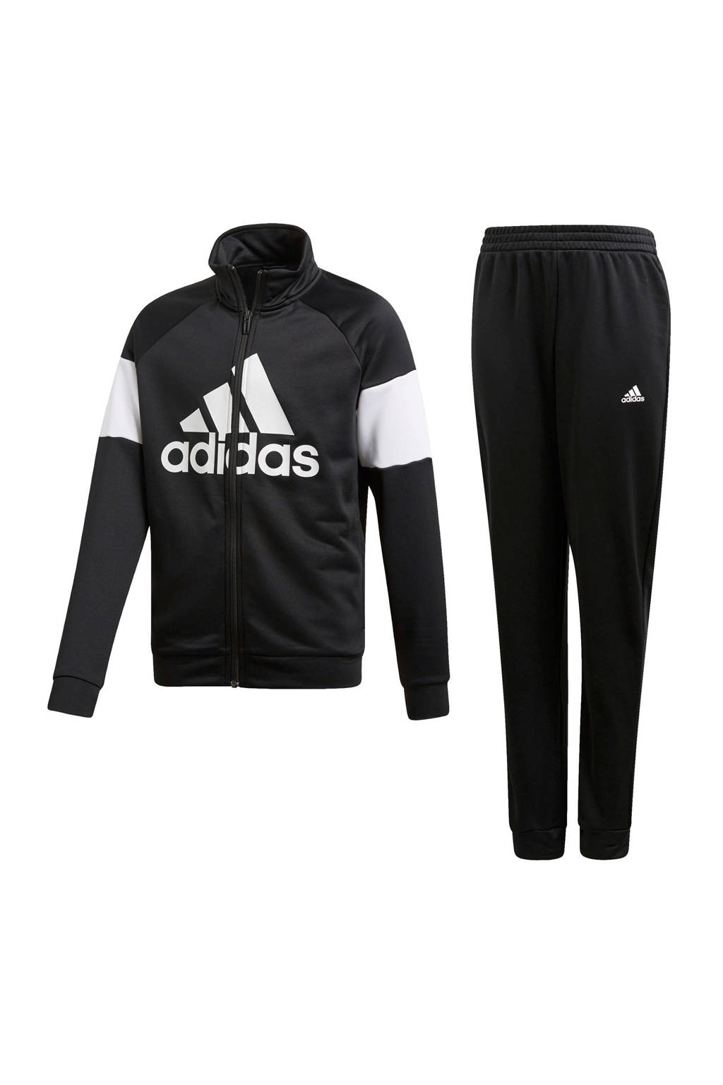 adidas Performance   trainingspak zwart, Zwart