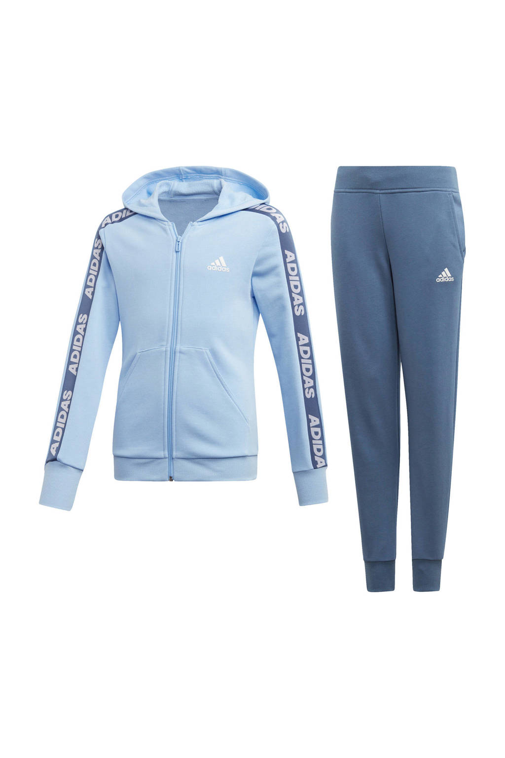adidas performance trainingspak blauw, Blauw