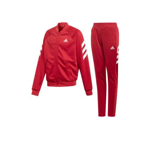 adidas performance trainingspak rood-wit