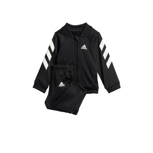 adidas performance trainingspak zwart-wit