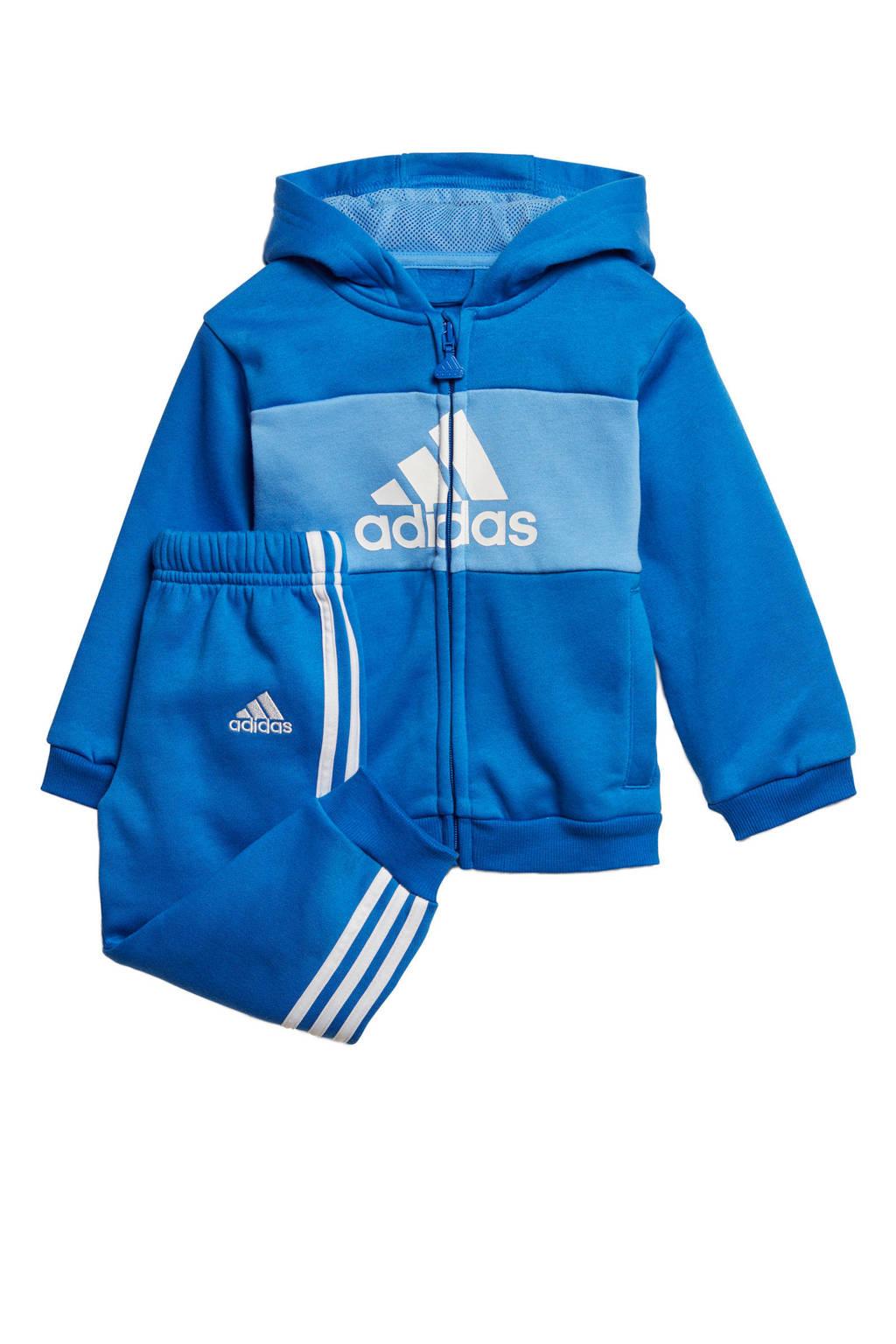 adidas   joggingpak blauw, blauw/lichtblauw/wit