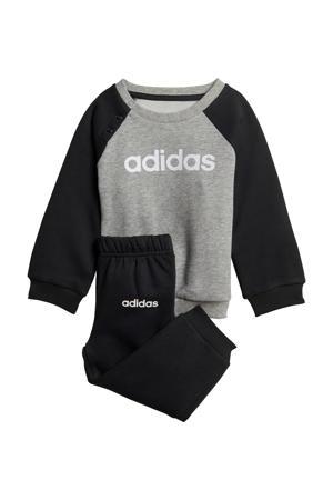 joggingpak grijs/zwart