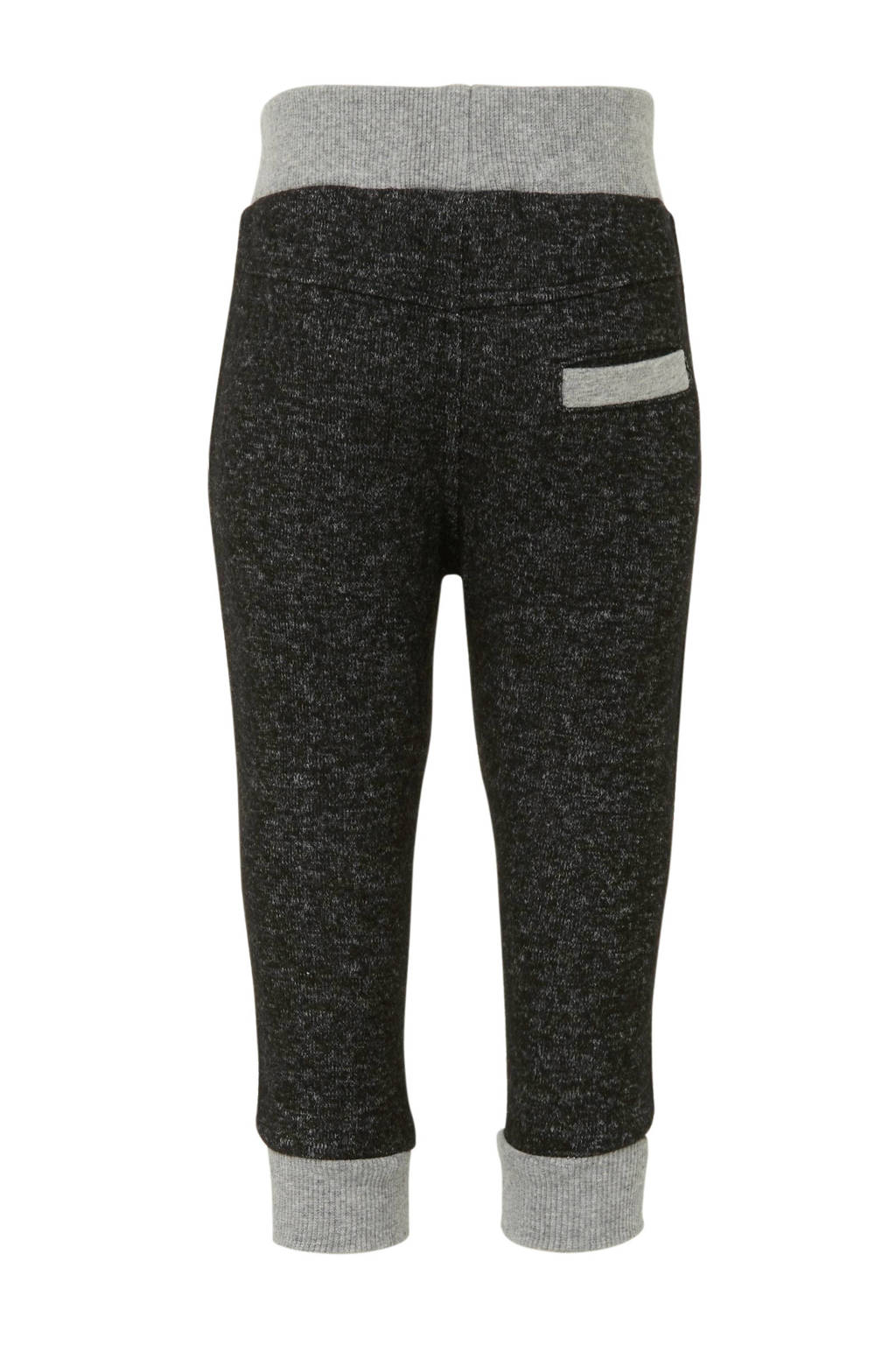 Koko Noko   regular fit joggingbroek met zijstreep zwart, Zwart