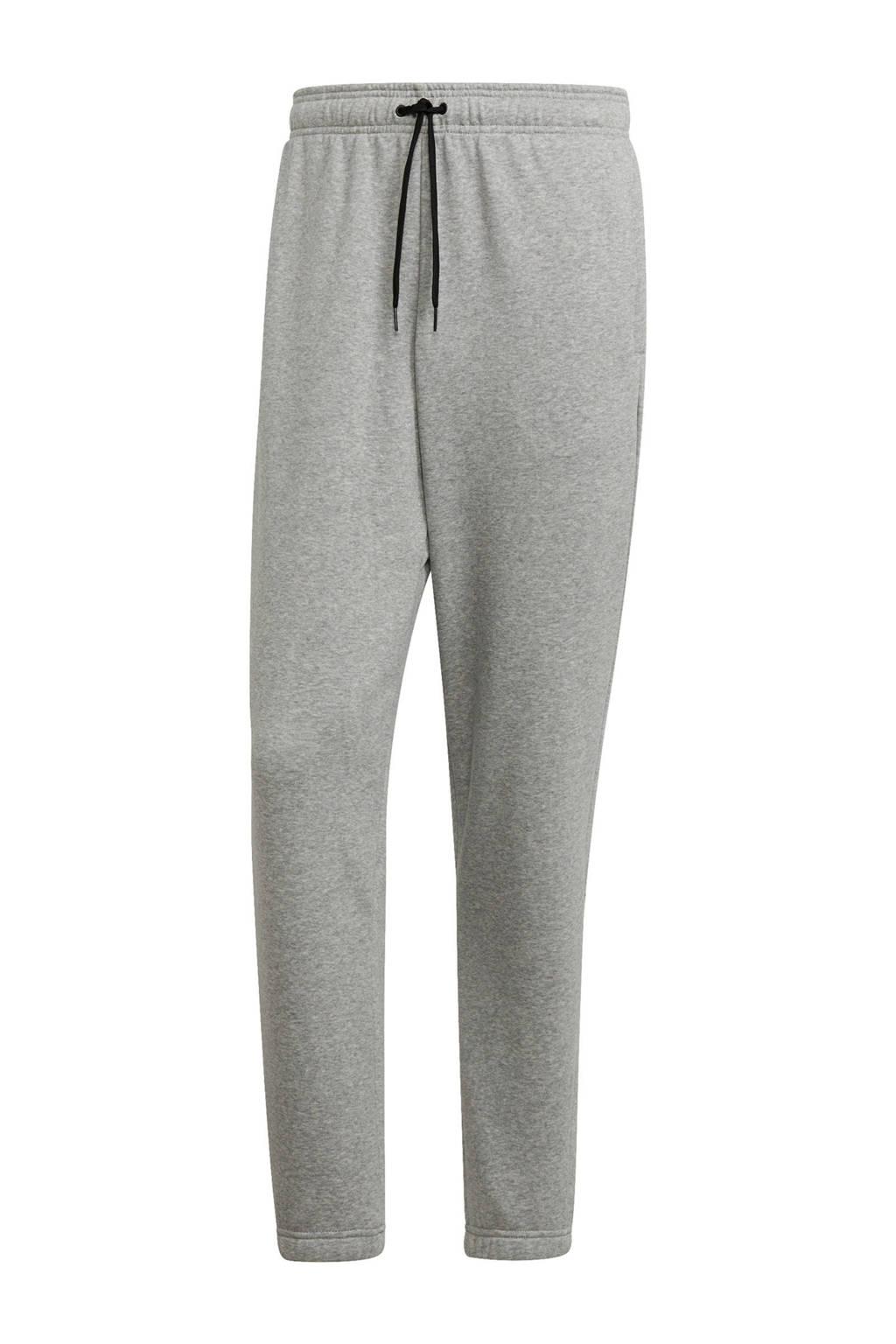 adidas regular fit joggingbroek grijs, Grijs